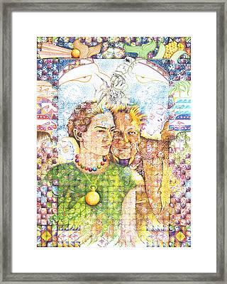 10000 Caras Son Uno Framed Print by Doug Johnson