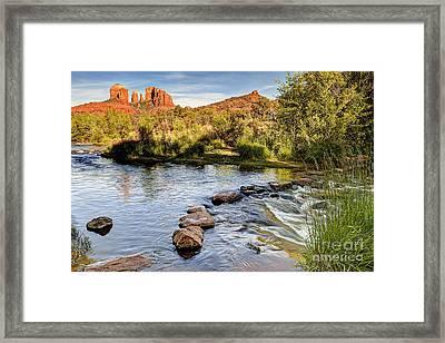 1001 Sedona Arizona Framed Print by Steve Sturgill
