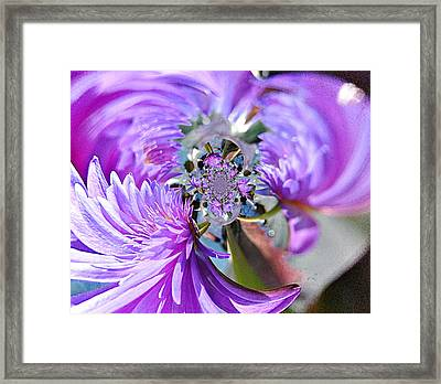 1006 Abstract 1 Framed Print