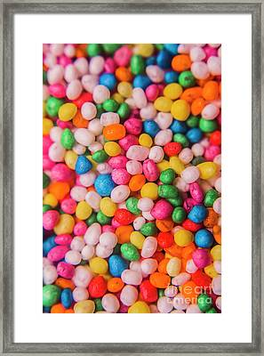 100s And 1000s Macro Framed Print