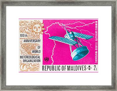 100th Anniversary Of World Meteorological Organization Framed Print by Lanjee Chee