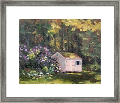 101 Blooms Framed Print by Trina Teele