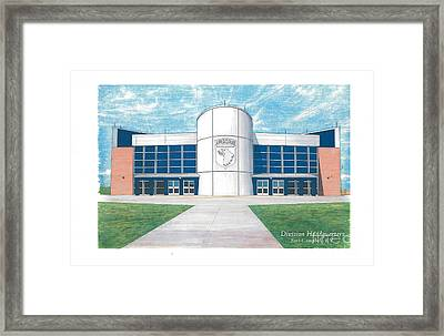 101st Airborne Division Headquarters Framed Print