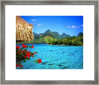 Landscape Paintings Framed Print