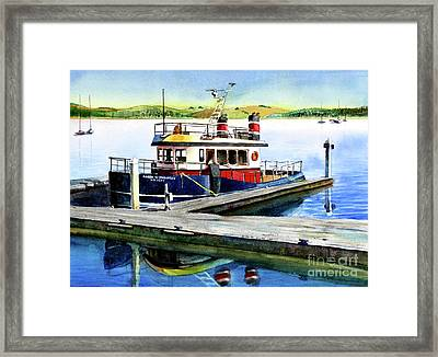 #103 Grizzly Framed Print by William Lum