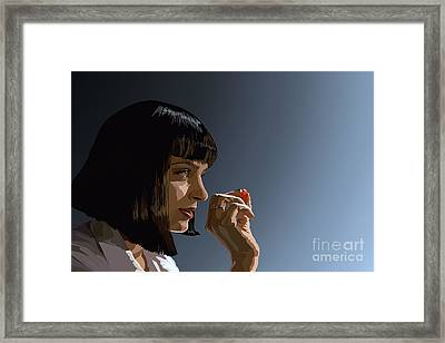 104. Whatever I Wanted Framed Print by Tam Hazlewood