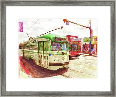1050 Framed Print