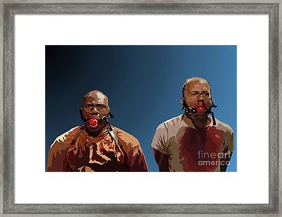106.  Eenie Meany Miney Moe... Framed Print by Tam Hazlewood