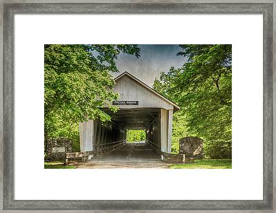 10700 Potter's Bridge Framed Print