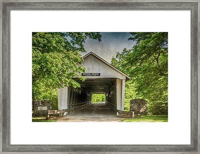 10700 Potter's Bridge Framed Print