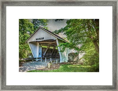 10702 Potter's Bridge Framed Print by Pamela Williams