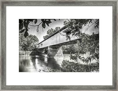 10703 Potter's Bridge Framed Print