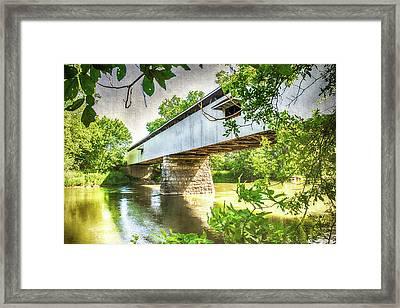 10704 Potter's Bridge Framed Print