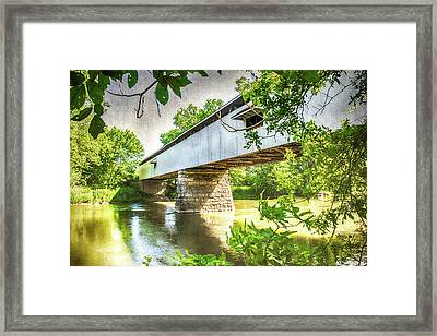 10704 Potter's Bridge Framed Print by Pamela Williams