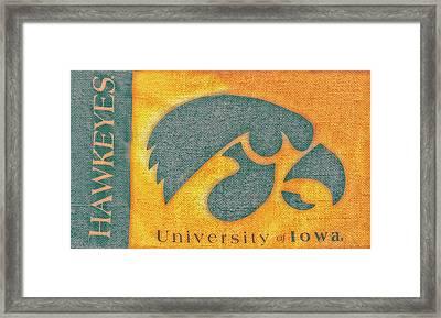 10720  Iowa Hawkeye Framed Print