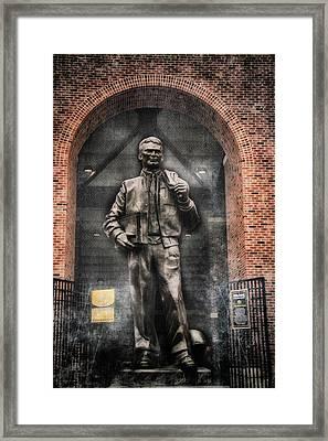 10726 Kinnick Statue Framed Print