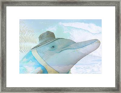 10732 Flipper Framed Print