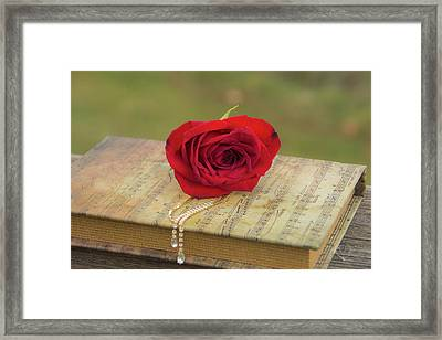 10754 For You My Love Framed Print