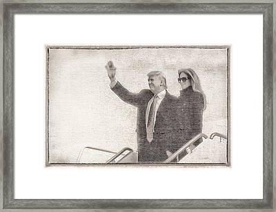 10779 The Trumps Framed Print by Pamela Williams