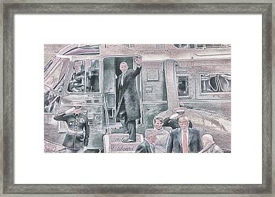10782 Farewell Renegade Framed Print by Pamela Williams