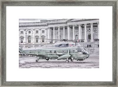 10783 Executive One Framed Print by Pamela Williams