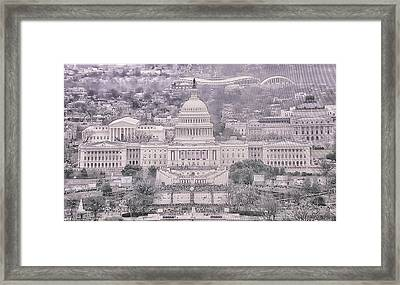 10784 The Inauguration Framed Print by Pamela Williams