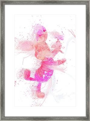 10800 Piglet Framed Print by Pamela Williams