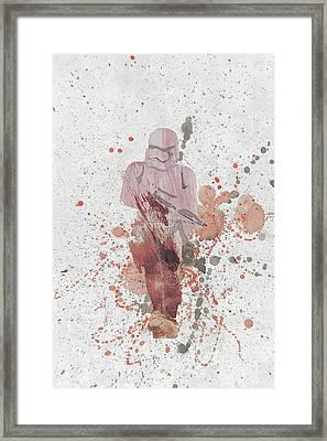 10809 Trooper Framed Print by Pamela Williams