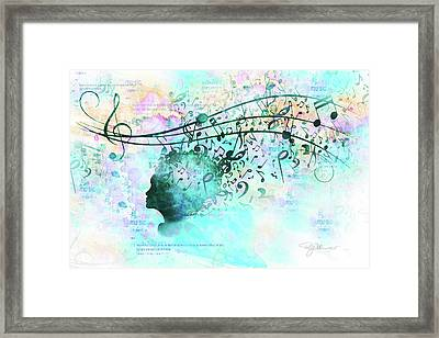 10846 Melodic Dreams Framed Print by Pamela Williams