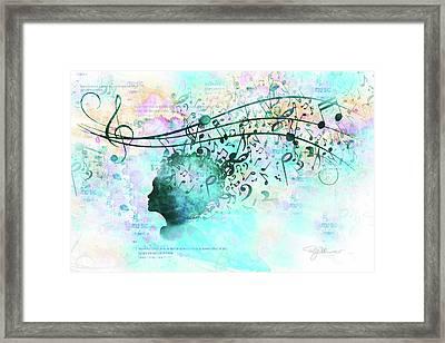 10846 Melodic Dreams Framed Print
