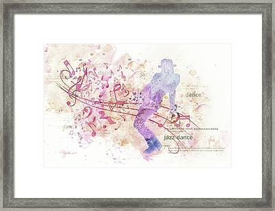 10849 All That Jazz Framed Print by Pamela Williams