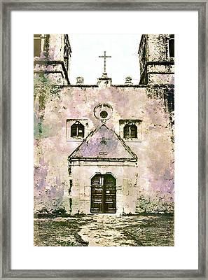 10852 Mission Concepcion Framed Print