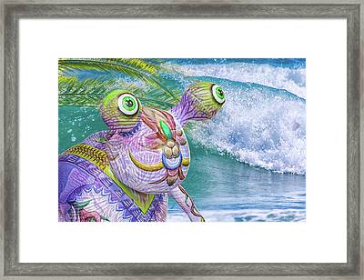 10859 Aliens In Paradise Framed Print