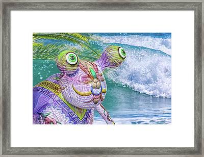10859 Aliens In Paradise Framed Print