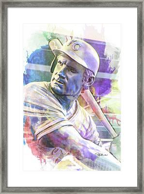 10929 George Brett Framed Print