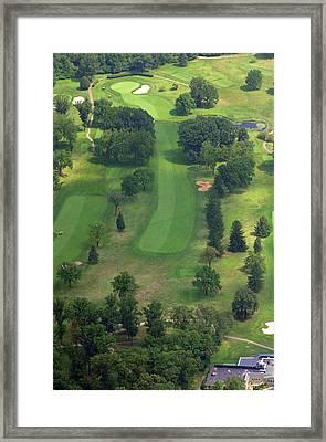 10th Hole Sunnybrook Golf Club 398 Stenton Avenue Plymouth Meeting Pa 19462 1243 Framed Print by Duncan Pearson