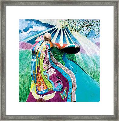 10th Step Framed Print by Lucinda Blackstone