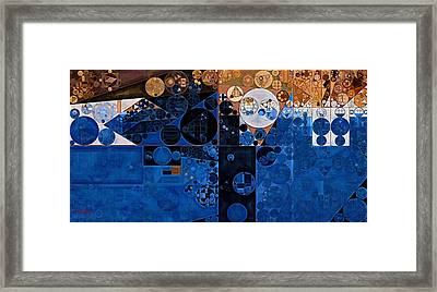 Abstract Painting - Confrontation Framed Print by Vitaliy Gladkiy