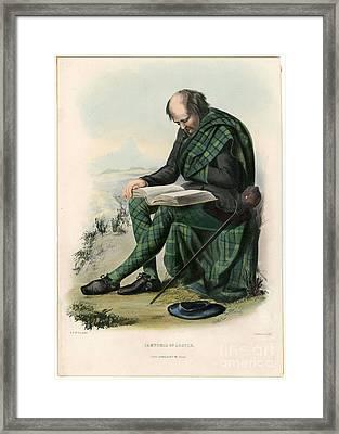 Clans Of The Scottish Highlands 1847 Framed Print