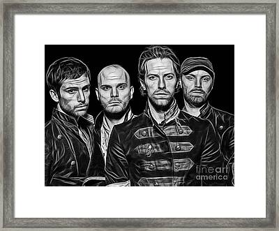 Coldplay Collection Framed Print