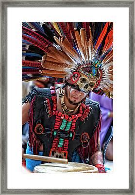 Dia De Los Muertos - Day Of The Dead 10 15 11 Framed Print