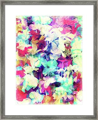 Digital Abstract Painting Framed Print by Tom Gowanlock