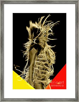 Grace Potter Collection Framed Print by Marvin Blaine