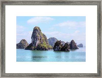Halong Bay - Vietnam Framed Print