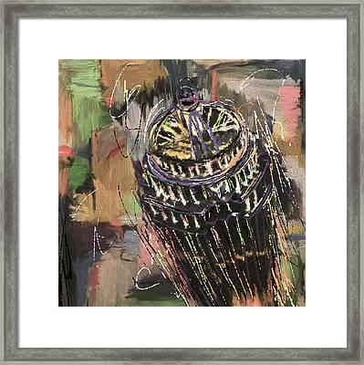 11 Huntington Avenue 220 3  Framed Print by Mawra Tahreem
