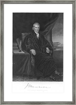 John Marshall (1755-1835) Framed Print by Granger