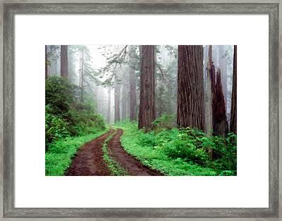 Landscape Of Framed Print