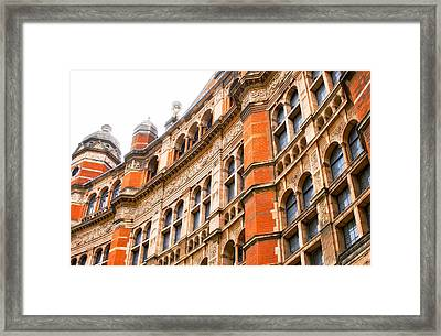 London Building Framed Print by Tom Gowanlock