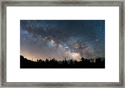 11 Mile Milky Way Framed Print