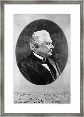 Millard Fillmore (1800-1874) Framed Print